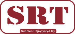 SRT Suomen Räjäytystyö Oy Logo